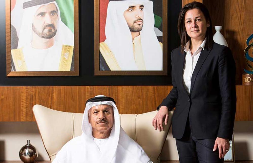 Face to Face: Evie Boustantzi, HE Khalifa Al Zaffin, Duserve FM