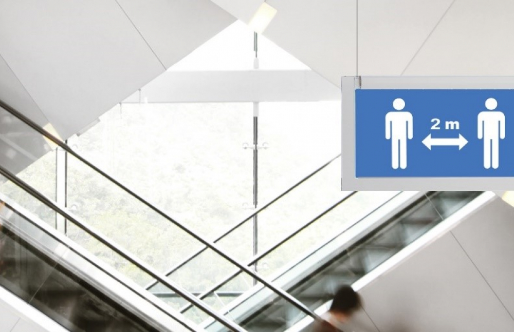 Eaton launches physical distancing pictograms for building owners