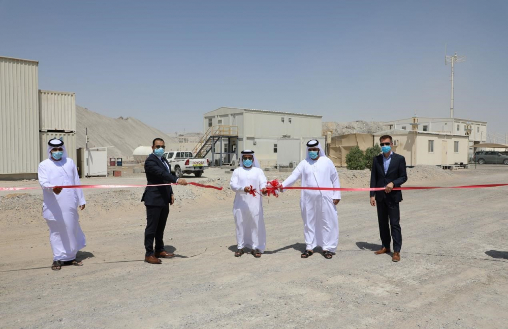 Tadweer opens phase two of solar power plant at Al Dhafra C&D waste recycling facility