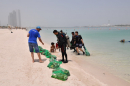 ADM collects two tonnes of waste from Corniche Beach