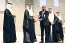 Adeeb honoured at Sheikh Khalifa Excellence Award