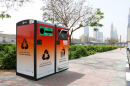 Dubai's Sheikh Zayed Road gets 100 smart waste containers