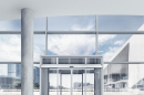 GEZE introduces new comfort locking mechanism for mobile, all-glass sliding wall systems