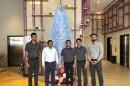 Housekeeping, engineering staff at Studio M Arabian Plaza creates Christmas tree with 1,200 used water bottles