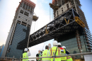 One Za'abeel project in Dubai completes record-breaking cantilever lift