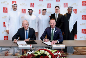 Emirates Group Security and Etihad sign MoU for aviation security