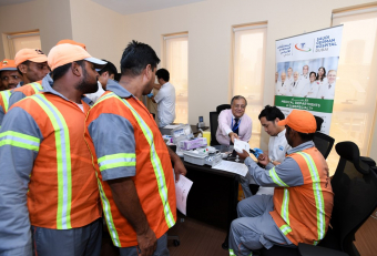 450 workers benefit from Dubai Municipality's medical initiative
