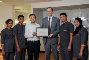 Farnek 'first to achieve' CIMS green cleaning standard in Middle East