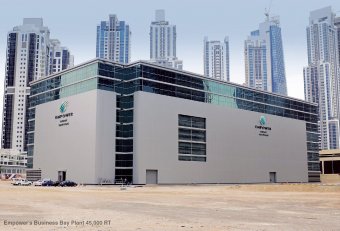 Empower district cooling network in Dubai expanded by 16% to 320 km in 2019