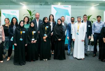 Siemens inaugurates its Emirati Graduate Program