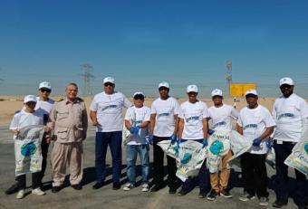 Millennium Airport Hotel Dubai participates in Clean Up the World initiative