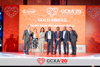 Ejadah wins two awards Gulf Customer Experience Awards 2020