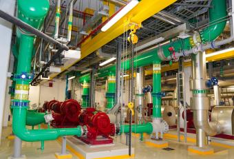 Emicool optimises flow to save energy at Al Jadaf District Cooling Plant using Siemens' solution