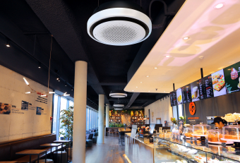 LG launches new Round Cassette air conditioner for Gulf businesses