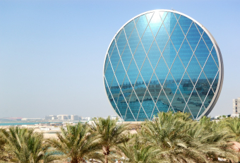 How Aldar HQ in Abu Dhabi is maintained?