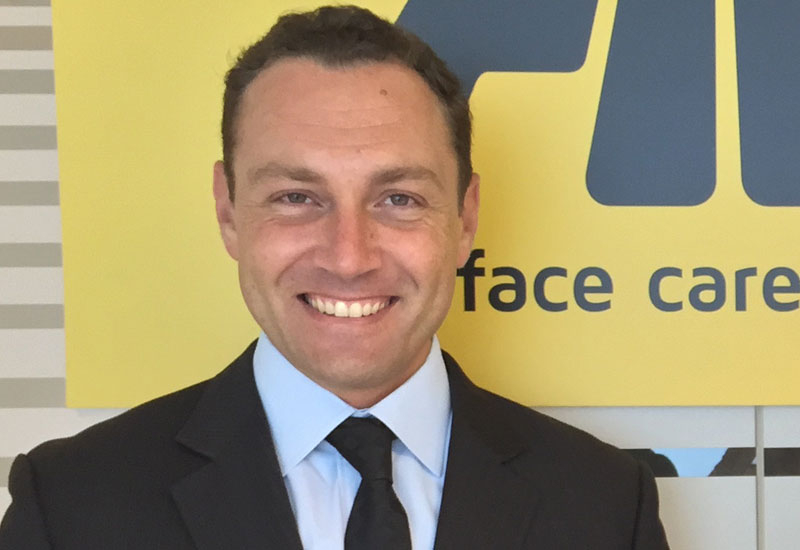 Fabrizio Nicoli, commercial manager of Fila Middle East