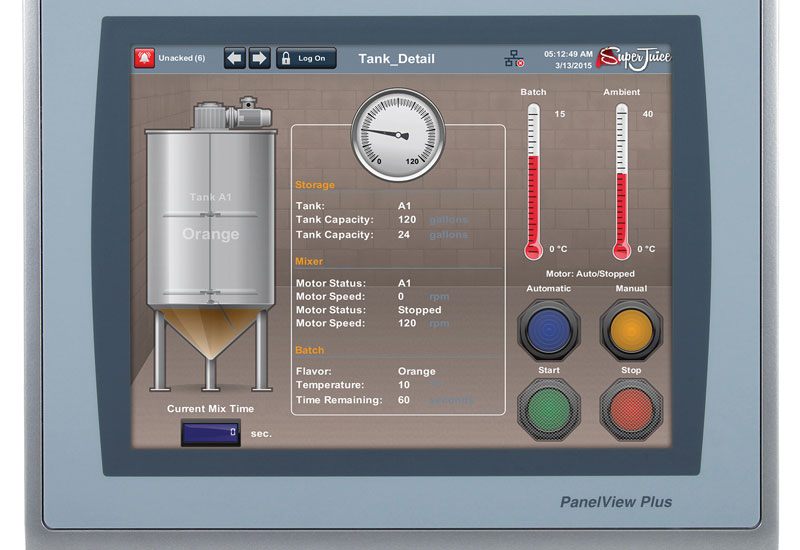 Allen-Bradley PanelView Plus 7 Performance.