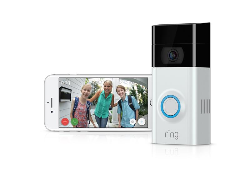 The Ring Video Doorbell 2.