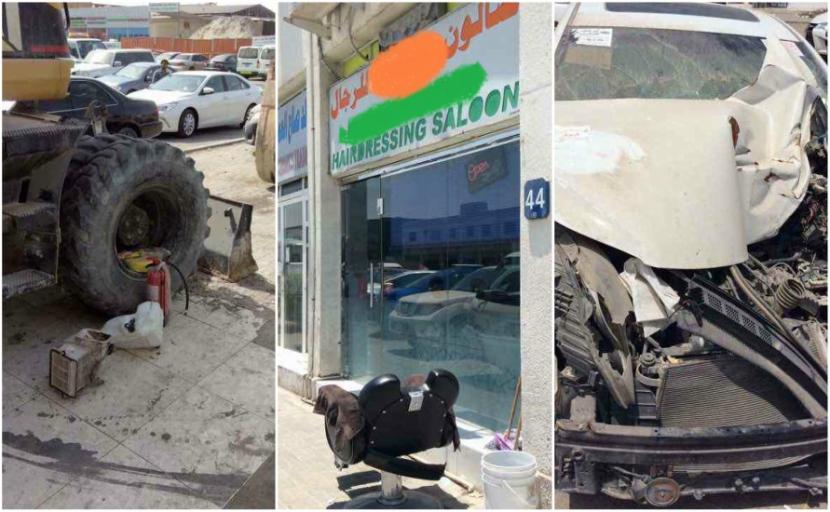 Abu Dhabi City Municipality found 1,500 violations across Mussafah.