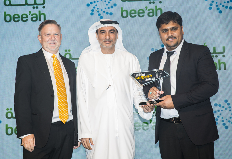 Muhammad Waqas from BK Gulf was crowned Unsung Hero of the Year.