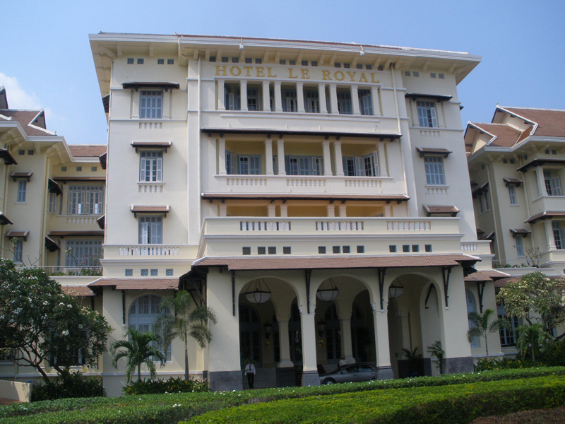 The energy audit hopes to reduce the energy cost of US $2million of Raffles Le Royal Phnom Penh and Raffles Grand Hotel d?Angor.