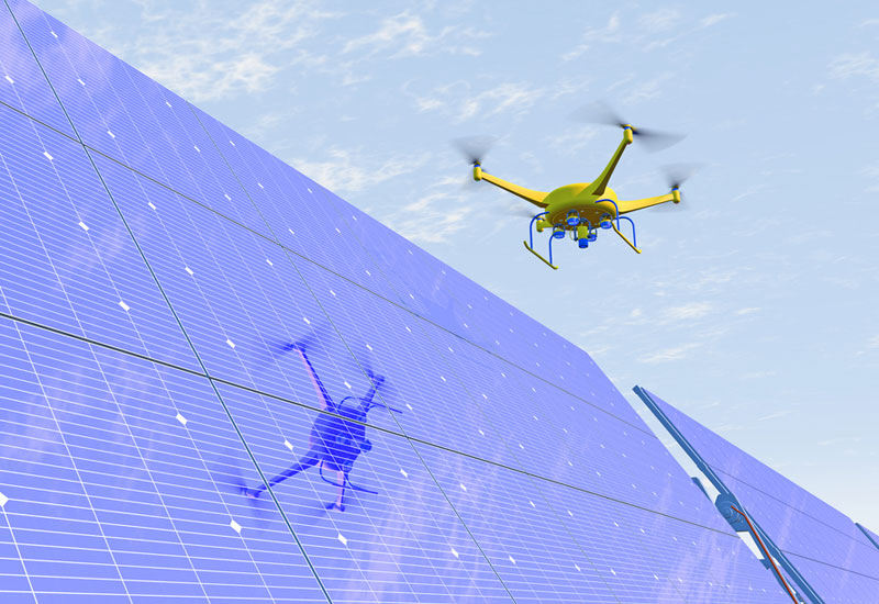 UAVs helps to cut DEWA's inspection of its facility considerably, covering an approximate area of 100,000 square feet in less than five minutes.