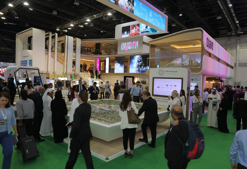 The Arabian Travel Market is the premier trade show for the hospitality industry, where professionals and international hotel groups gather annually.