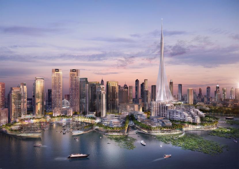 The Dubai Creek Harbour by Emaar.