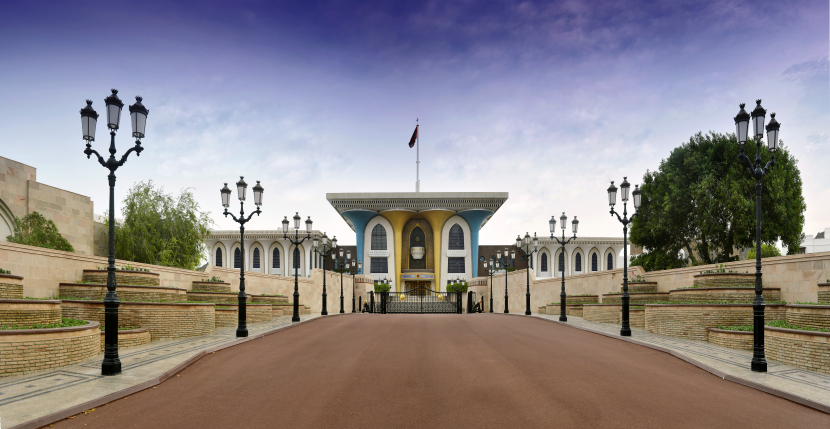 OSCO does the FM works at Oman's Muscat Palace.