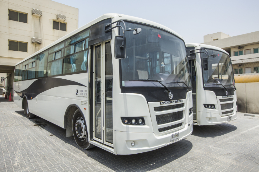 QBG FM, has 130 vehicles in its fleet that's used for staff transportation alone.