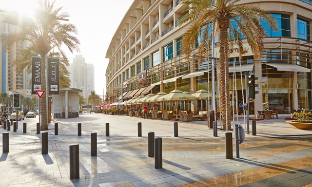 The Sheikh Mohammed bin Rashid Boulevard is located in Downtown Dubai.