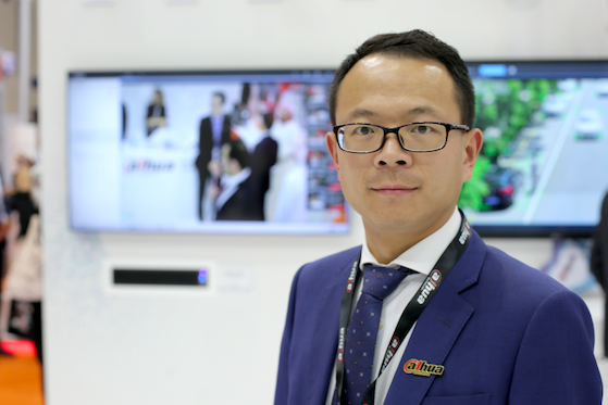 Xin Chen, general manager of Dahua Technology Middle East FZE.