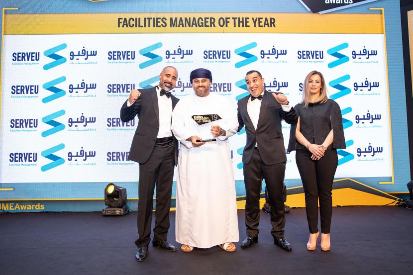 Adham Al Naamani of Mace Macro won the FM Manager of the Year award at the FM Awards 2019.